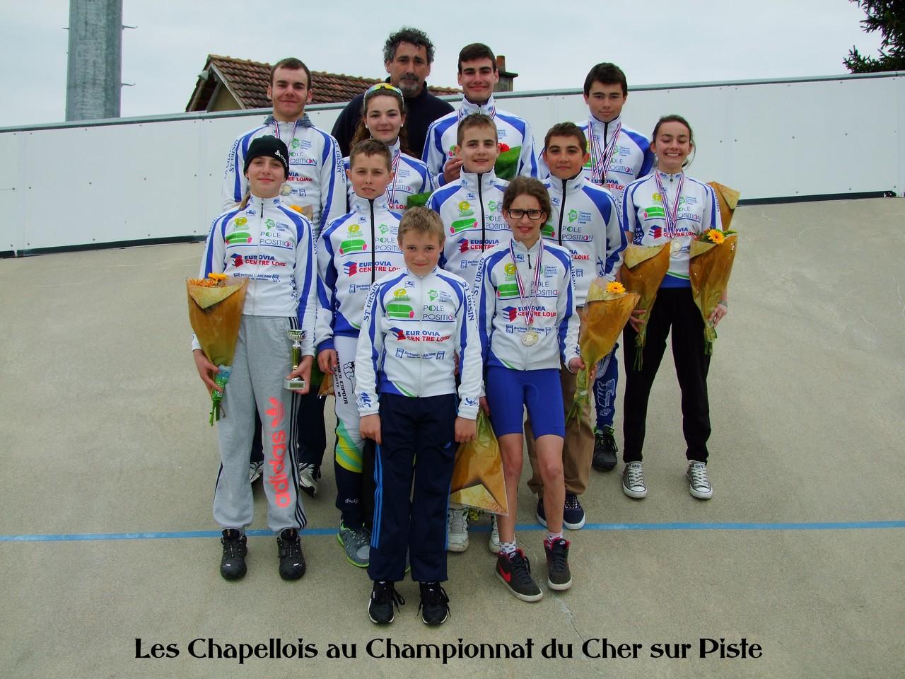Championnat du Cher piste 2014